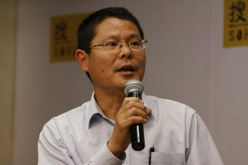 北京麋鹿生态中心的郭耕先生