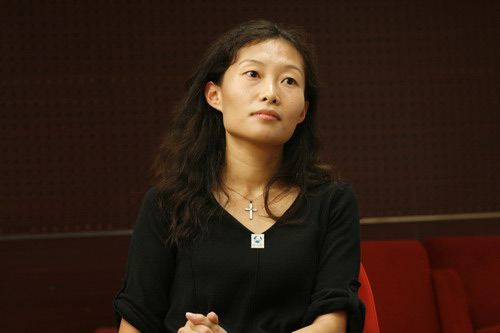 国际爱护动物基金会中国项目部的主任华宁女士