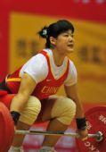 图文:第11届全运会举重之最 刘春红夺金牌最多
