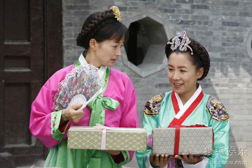 图:《包三姑外传》剧照 韩式装扮