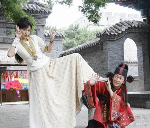 图:《包三姑外传》剧照 李绮红