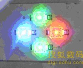 图2 RGB-LED结构