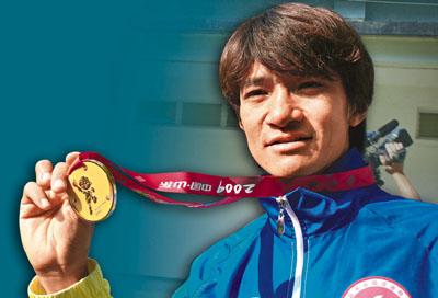 黄金宝希望取得奥运奖牌完结运动员生涯。(图片来源:文汇报)