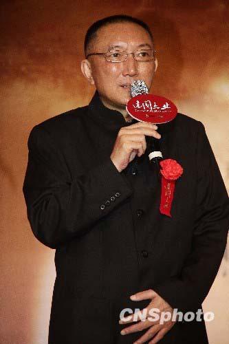 资料图片:中影集团董事长、电影《建国大业》导演韩三平。 中新社发 张爱东 摄