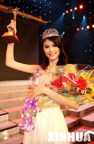 何  穗 2006第十二届中国模特之星大赛冠军