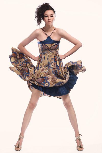 刘彤彤 2008第三届中国超级模特大赛冠军