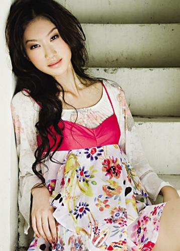 张抒扬  2008第三届亚洲超级模特大赛总冠军