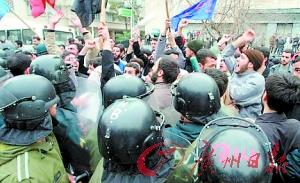 伊朗在6月总统选举后爆发骚乱。