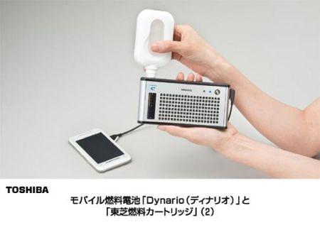 将甲醇灌入设备就会自动发电通过USB接口输出充给手机