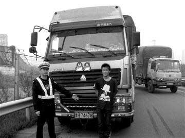 交警依法对陈某处以治安拘留15天