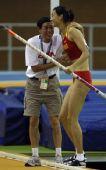 图文:亚洲室内运动会 李玲获女子撑杆跳高冠军