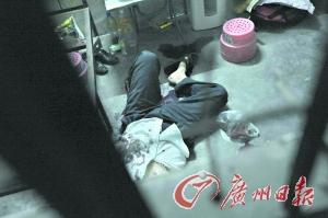 警方现场击毙犯罪嫌疑人。记者轩慧 摄
