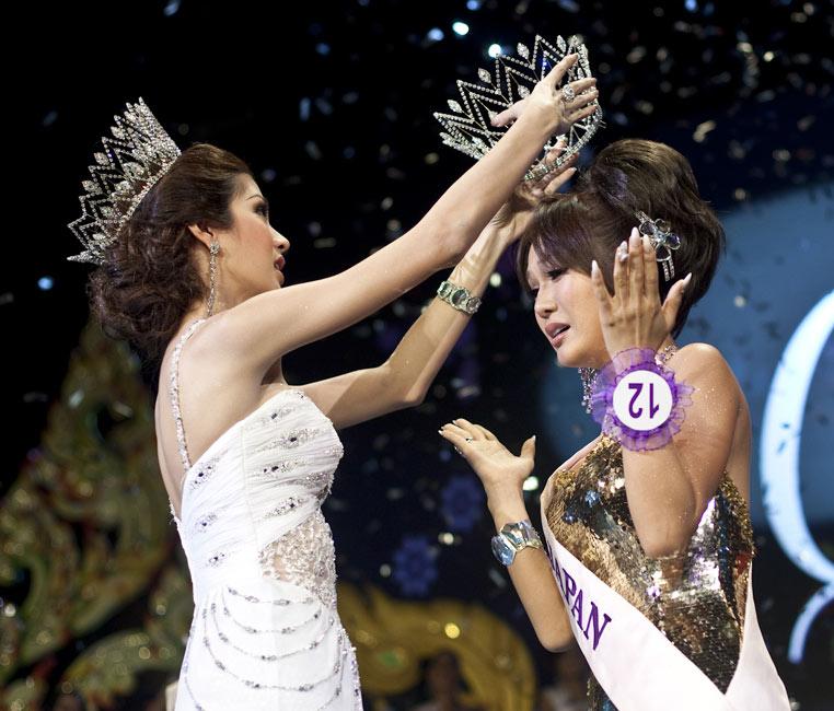 组图:国际变性人选美大赛 日本参赛者封后 搜狐