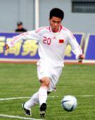 图文:[亚青赛预赛]国青13-0菲律宾 拔脚欲射