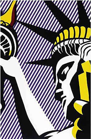 《我爱自由》罗依・李奇登斯坦作品估价:2万美元至3万美元