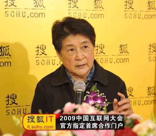 中国互联网协会理事长胡启恒做客搜狐IT专访间