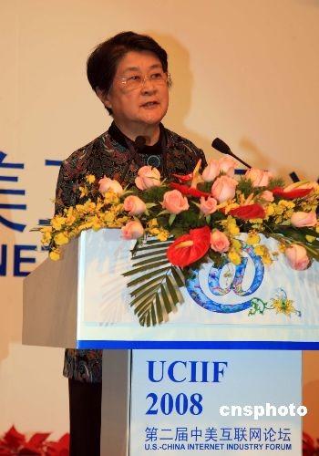 中国互联网协会理事长胡启恒(资料图) 中新社发 潘索菲 摄