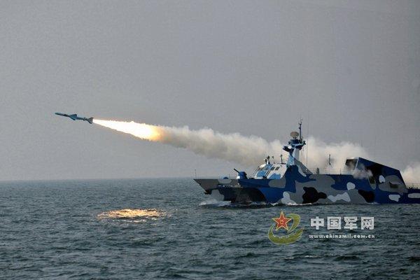 北海舰队海空潜协同演练 多型主力装备亮相(图)