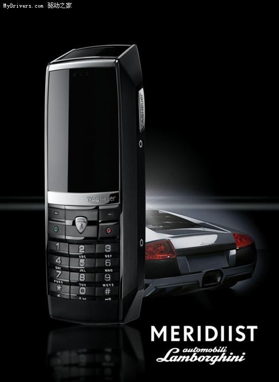 兰博基尼豪雅共推奢华手机