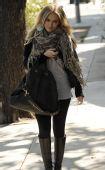 好莱坞一周潮人街拍:希拉里-达芙