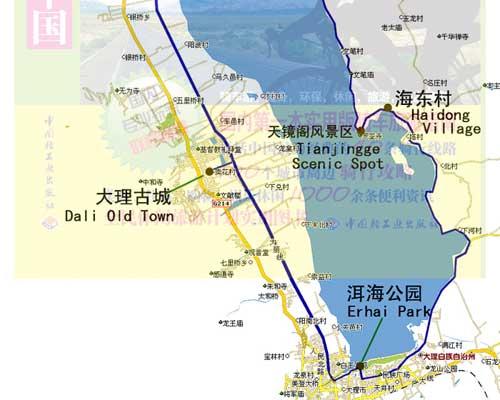 大理洱海旅游骑车攻略-搜狐旅游