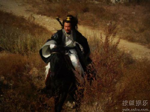 景岗山骑术了得