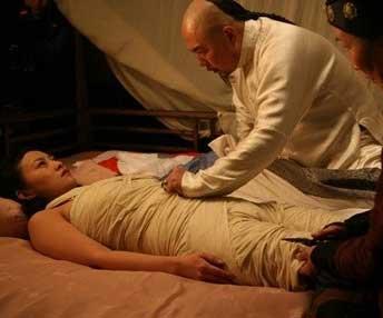 很少演激情戏的赵薇在床上与陈坤的大胆激情