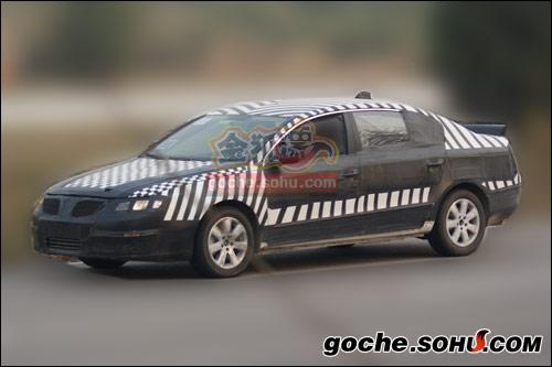 搜狐汽车获取与海外进行同步测试的新一代迈腾