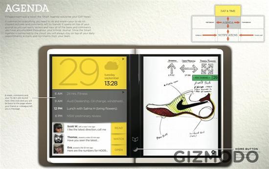 微软首款双屏Booklet产品Courier更多细节