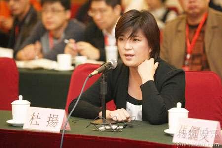 完美时空杜扬出席青年论坛_与台湾影人共论电影融资3