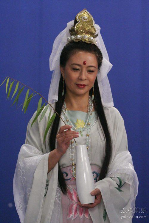 图:《吴承恩与西游记》精彩剧照―― 观音菩萨