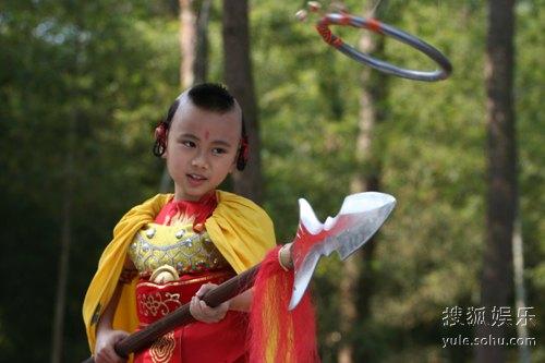 图:《吴承恩与西游记》精彩剧照―― 红孩儿