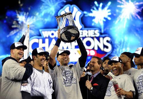 纽约扬基夺得总冠军,第27次夺冠也是缔造了历史