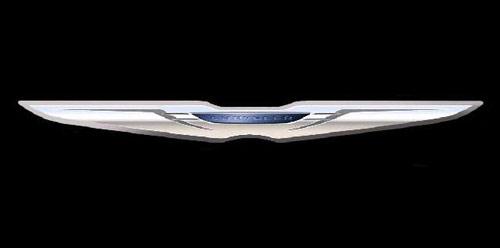 克莱斯勒新LOGO-克莱斯勒换标 发布未来五年新车产品计划高清图片