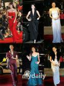 图:女星红毯比拼美服