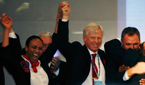 多伦多获2015年泛美运动会主办权 拥抱