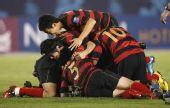图文:[亚冠]浦项2-1伊蒂哈德夺冠 庆祝胜利