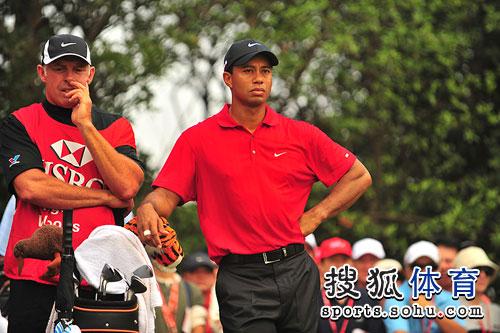 图文:汇丰冠军赛第四轮 老虎与威廉姆斯