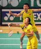 图文:羽毛球香港公开赛 田卿回球露点