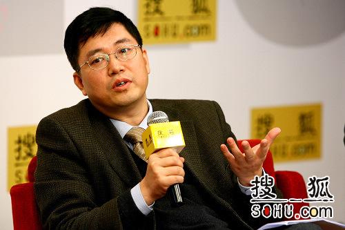 零点研究咨询集团副总裁赵玉峰(搜狐-李志岩/摄):