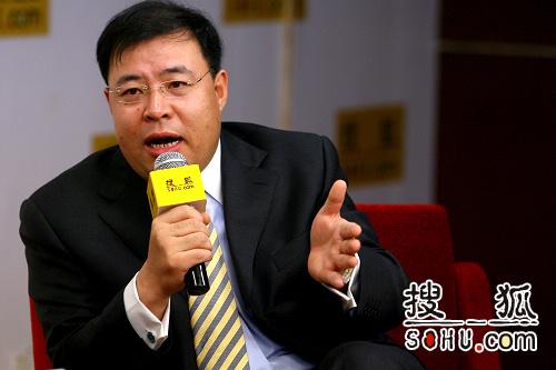 福田汽车副总经理、国际部总经理董海洋(搜狐-李志岩/摄)