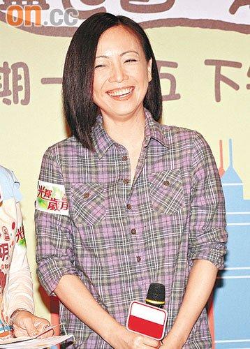 被问到是否稳夺视后,邓萃雯即笑到见牙不见眼!