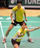 图文:香港羽毛球公开赛次日 金旼贞上网前球