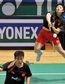 图文:香港羽毛球公开赛次日 于洋后场扣杀