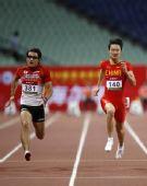 图文:亚锦赛次日男子100米 张培萌PK日本名将