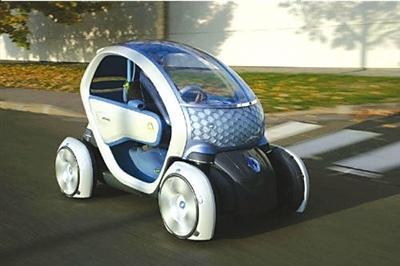 雷诺/近日,雷诺宣布2011年于西班牙生产基于TwizyZ.E.概念车的一款...