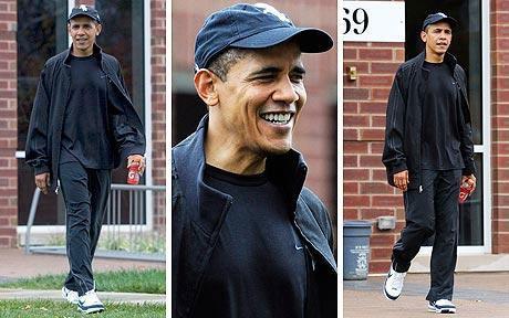 工作起来废寝忘食的奥巴马