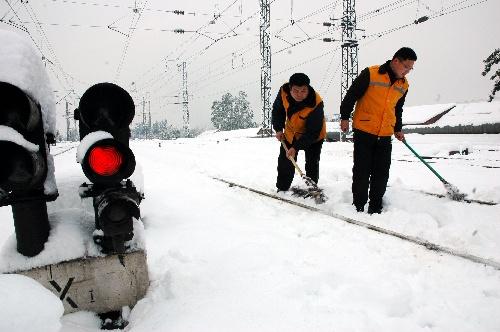 省内大范围雨雪天气基本停止.相关统计资料显示,此番降雪创下多个