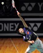 图文:香港超级赛半决赛战况 蒋燕皎扣杀斜线
