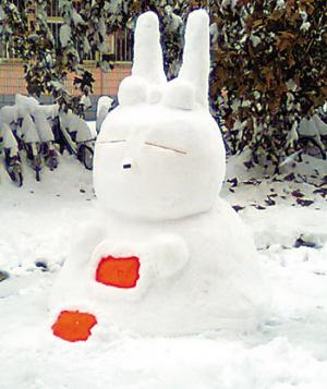 小学生手工制作雪人